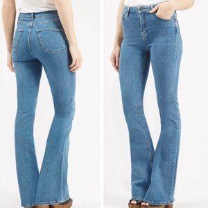 Top Shop Moto Jamie Flare Jeans